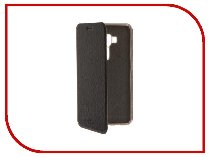 Аксессуар Чехол ASUS Zenfone 3 ZS570KL SkinBox Lux Black T-S-AZS570KL-003<br>
