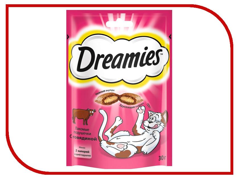 Лакомство Dreamies Говядина 30g для кошек 10107142 qiya 30g