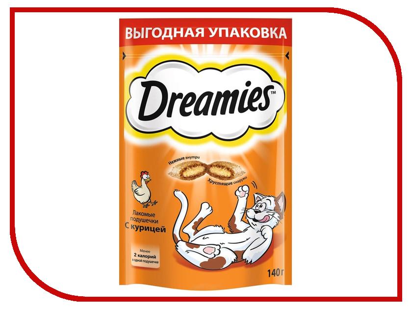 Лакомство Dreamies Курица 140g для кошек 10150256<br>