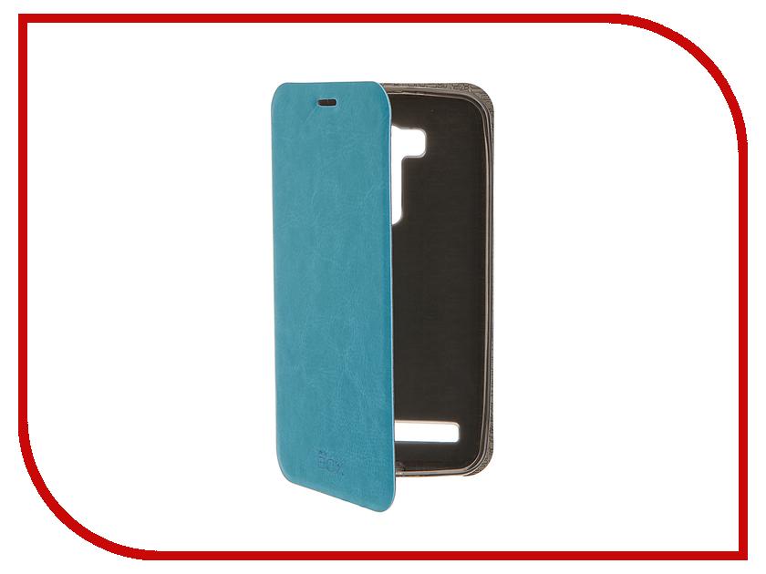 Аксессуар Чехол ASUS ZenFone Go ZB551KL / G550KL Go TV SkinBox Lux Blue T-S-AZB551KL-003<br>