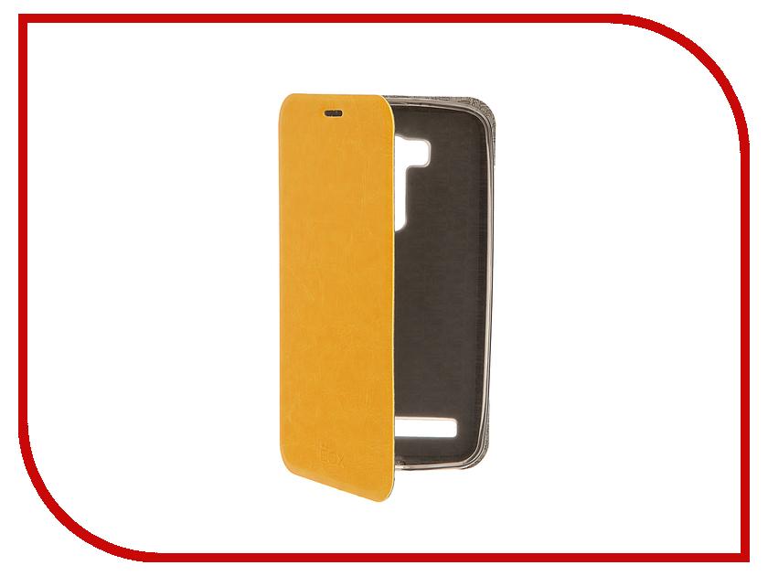 Аксессуар Чехол ASUS ZenFone Go ZB551KL / G550KL Go TV SkinBox Lux Yellow T-S-AZB551KL-003<br>