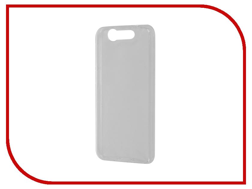 Аксессуар Чехол ZTE Blade S7 SkinBox Slim Silicone Transparent T-S-ZBS7-005<br>