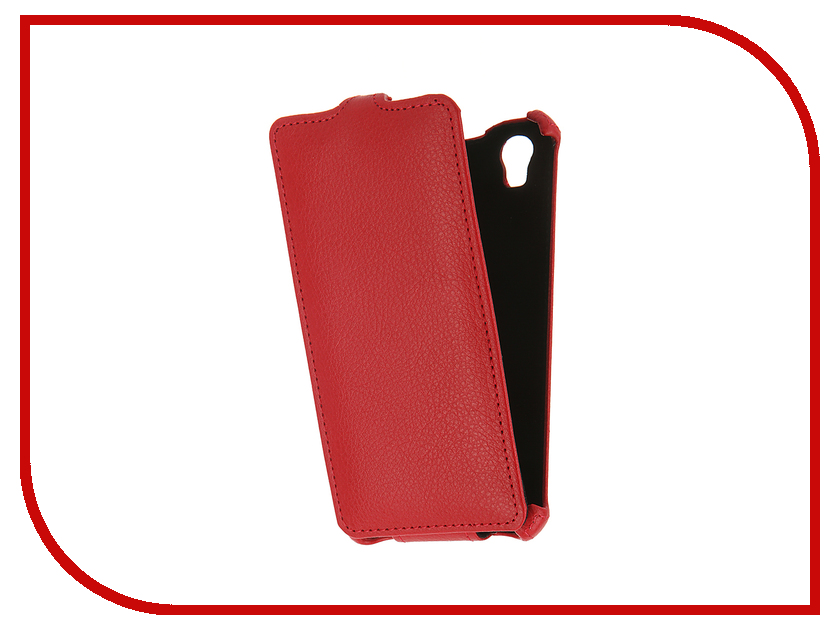 Аксессуар Чехол Prestigio Muze A5 Gecko Red GG-F-PRESA5-RED