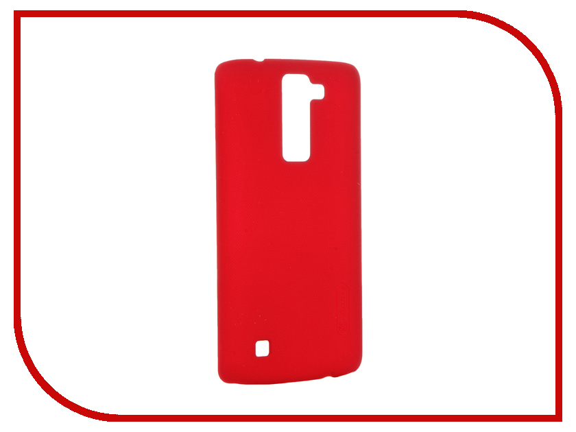 Аксессуар Чехол LG K8 Nillkin Frosted Shield Red T-N-LK8-002<br>