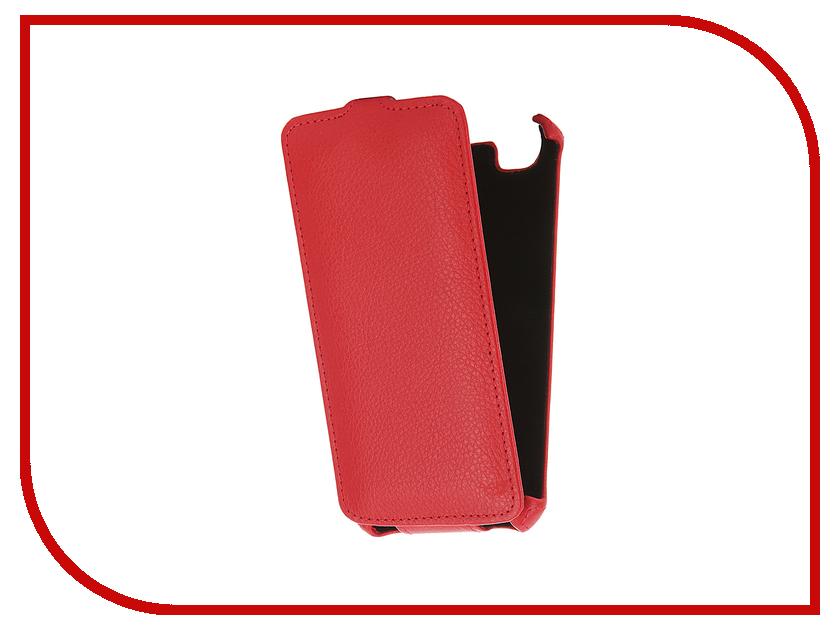 Аксессуар Чехол Fly FS505 Nimbus 7 Gecko Red GG-F-FLYFS505-RED<br>