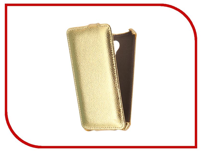 Аксессуар Чехол Lenovo Vibe C2 K10A40 Gecko Gold GG-F-LENC2-GOLD смартфон lenovo vibe c2 8gb k10a40 black