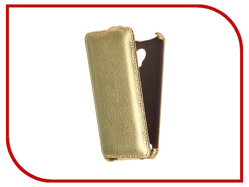 Аксессуар Чехол Lenovo Vibe C2 Power K10A40 Gecko Gold GG-F-LENAC2P-GOLD смартфон lenovo vibe c2 power 16gb k10a40 white