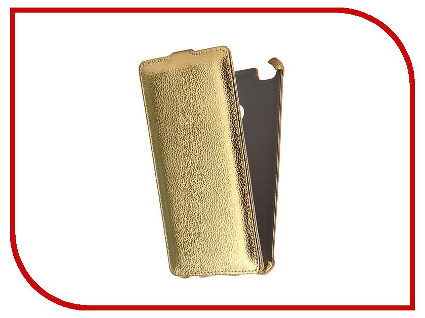 Аксессуар Чехол-флип Xiaomi Mi Max Gecko Gold GG-F-XMMIMAX-GOLD
