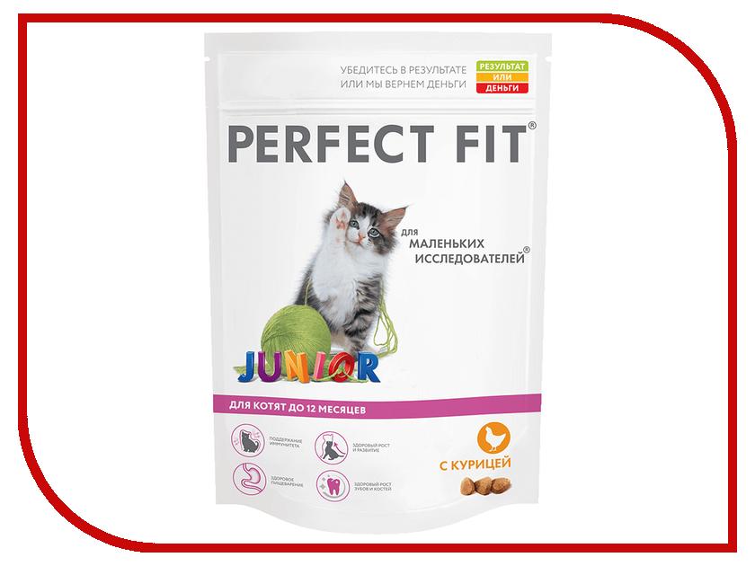 Корм Perfect Fit Курица 190g 10155954/10108255 для котят корм для кошек perfect fit купить