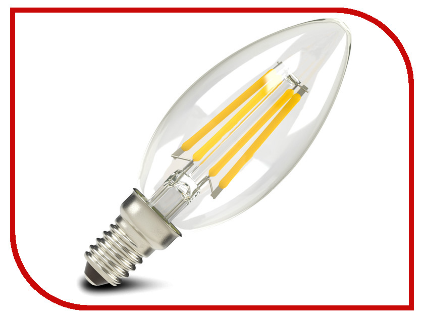 Лампочка X-flash XF-E14-FL-B35-4W-2700K-230V 47611