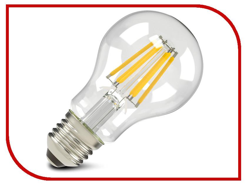 Лампочка X-flash XF-E27-FL-A60-8W-2700K-230V 47666 лампочка экономка a60 14w e27 230v 4500k ecol14wa60230ve2745