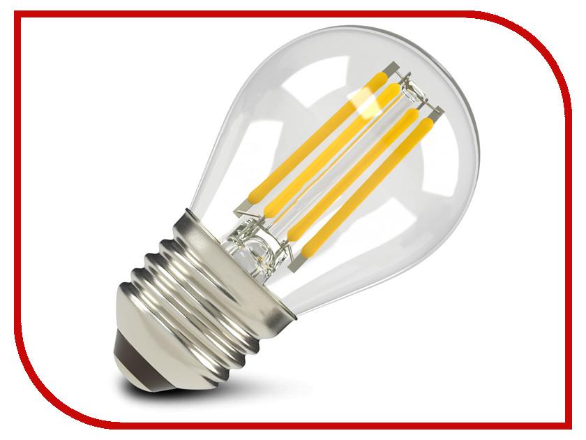 Лампочка X-flash XF-E27-FL-G45-4W-2700K-230V 47642<br>