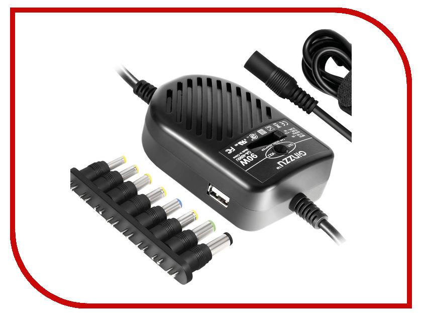 Блок питания Ginzzu GA-4090U Black блок питания для камер видеонаблюдения ginzzu ga 1035 12v 1 0a