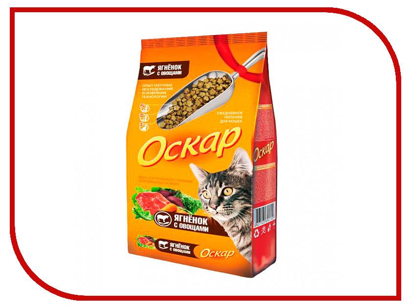 Корм Оскар Ягненок/Овощи 400g 59250 для кошек