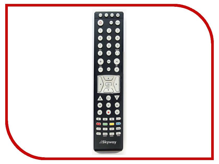 Комплект спутникового телевидения SKYWAY Универсальный пульт дистанционного управления от Droid<br>