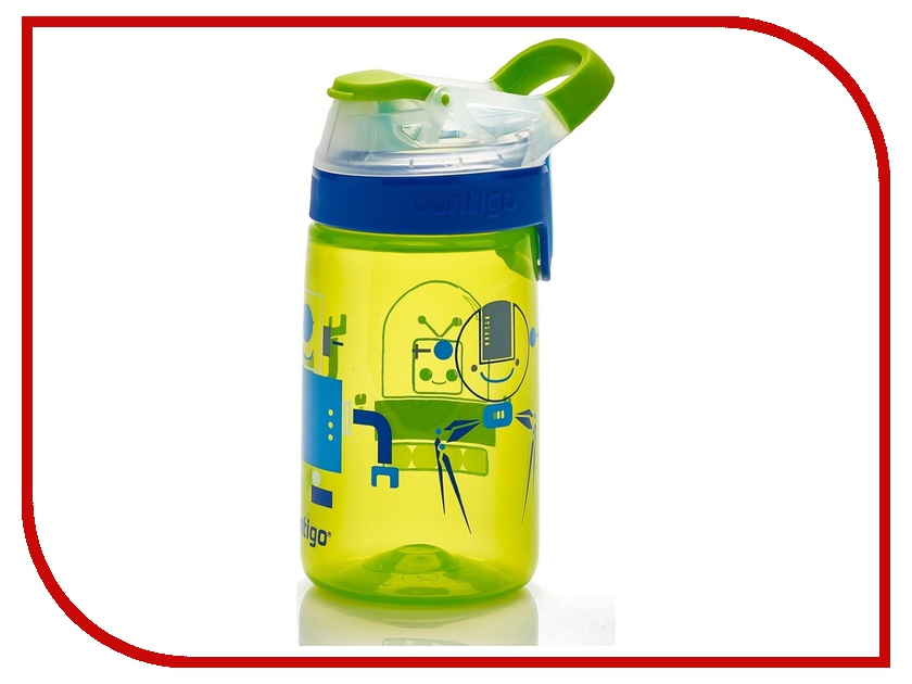 Бутылка Contigo Gizmo Sip детская Green contigo0473 термокружка contigo contigo0502