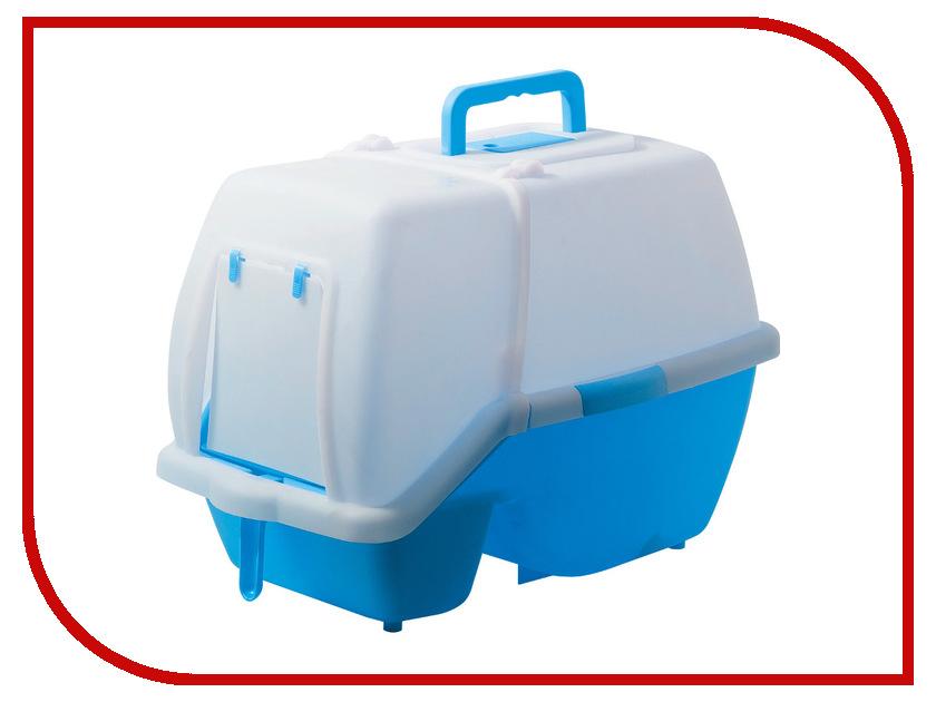 Туалет V.I.Pet 60x42x45cm Blue P191-05 для кошек<br>