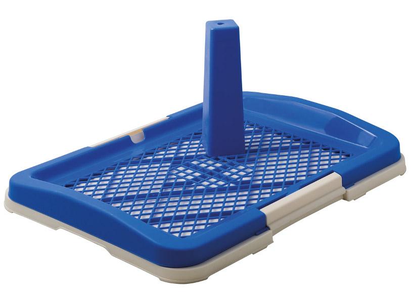 Туалет V.I.Pet для собак 48x35x6cm Blue P159-05/10
