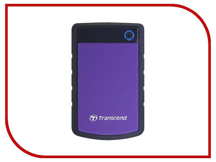 Жесткий диск Transcend 4Tb StoreJet H3 USB 3.0 TS4TSJ25H3P<br>