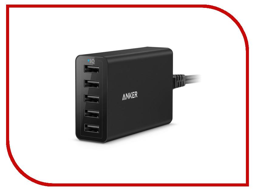 цена Зарядное устройство Anker PowerPort 5xUSB A2124L12 онлайн в 2017 году