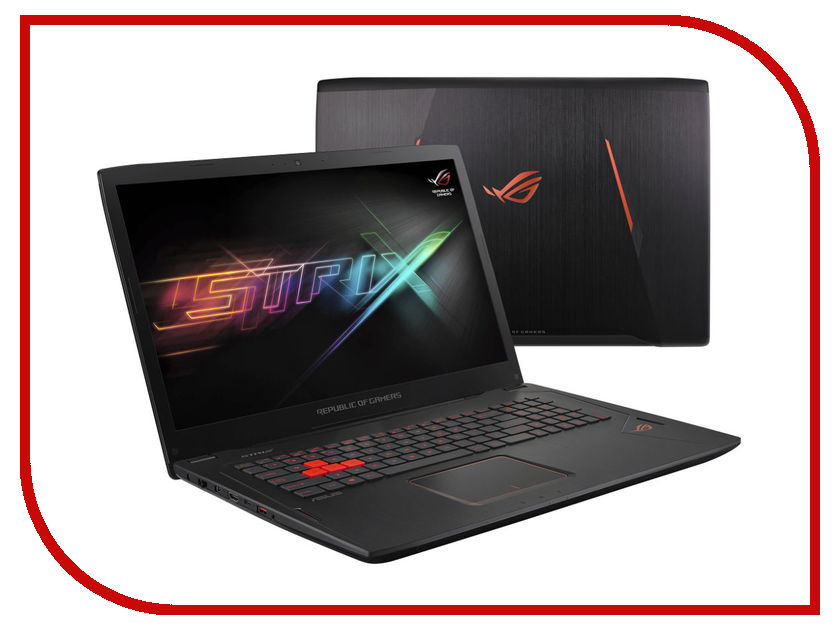 Ноутбук ASUS GL702VT 90NB0CQ1-M01340 Intel Core i7-6700HQ 2.6 GHz/16384Mb/1000Gb + 512Gb SSD/No ODD/nVidia GeForce GTX 970M 6144Mb/Wi-Fi/Bluetooth/Cam/17.3/1920x1080/Windows 10 64-bit<br>