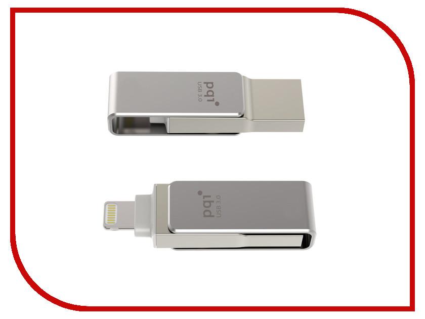 USB Flash Drive 128Gb - PQI iConnect mini Grey 6I04-128GR1001<br>