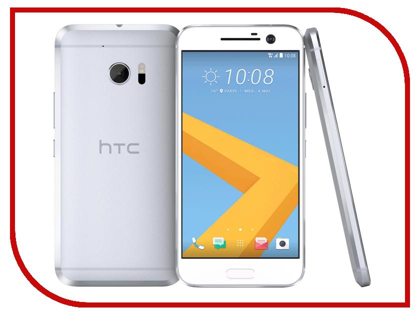 Сотовый телефон HTC 10 Lifestyle Glacier Silver