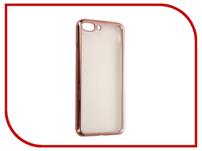 Аксессуар Чехол DF для APPLE iPhone 7 Plus iCase-09 Rose Gold чехол крышка df icase для apple iphone 5 5s se серый