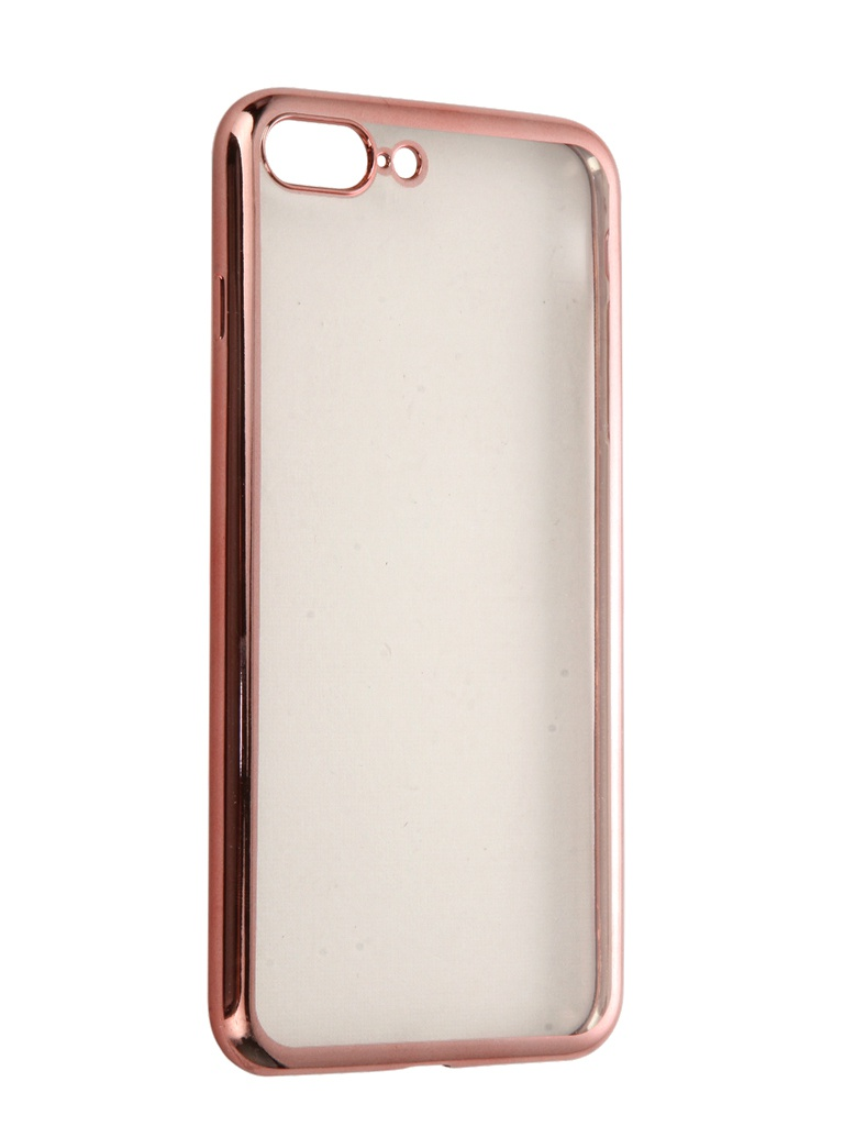 Аксессуар Чехол DF для APPLE iPhone 7 Plus iCase-09 Rose Gold