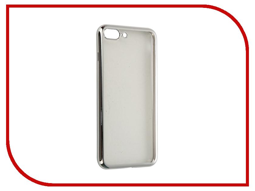 Аксессуар Чехол DF для APPLE iPhone 7 Plus iCase-09 Silver чехол крышка df icase для apple iphone 5 5s se серый