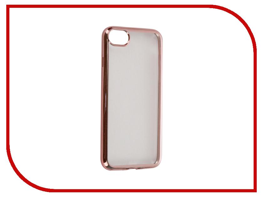 Аксессуар Чехол DF для APPLE iPhone 7 iCase-08 Rose Gold чехол крышка df icase для apple iphone 5 5s se серый