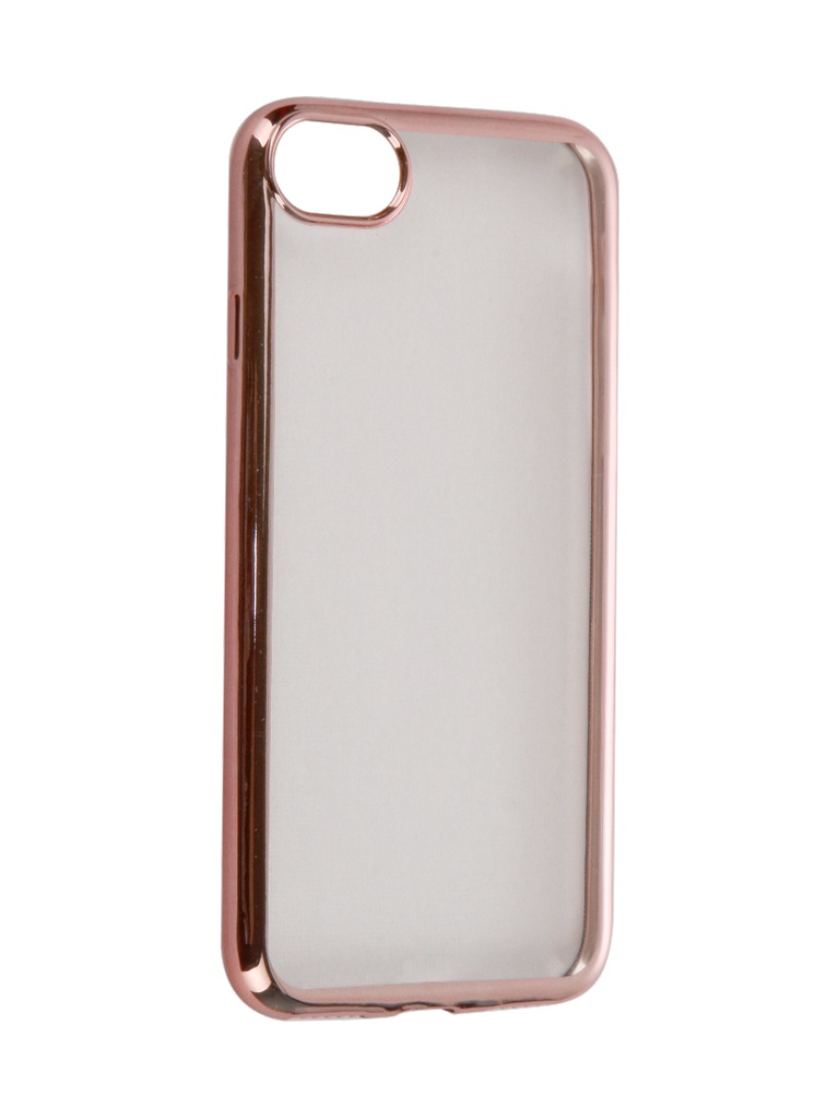 Аксессуар Чехол DF для APPLE iPhone 7 iCase-08 Rose Gold аксессуар чехол для apple iphone 7 plus 8 plus df silicone super slim icase 07