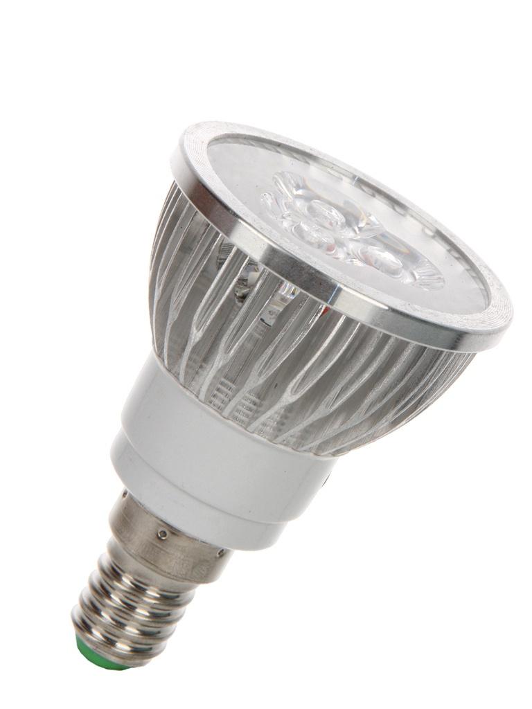 Светодиодная фитолампа Espada Fito LED E14-3W 85-265V