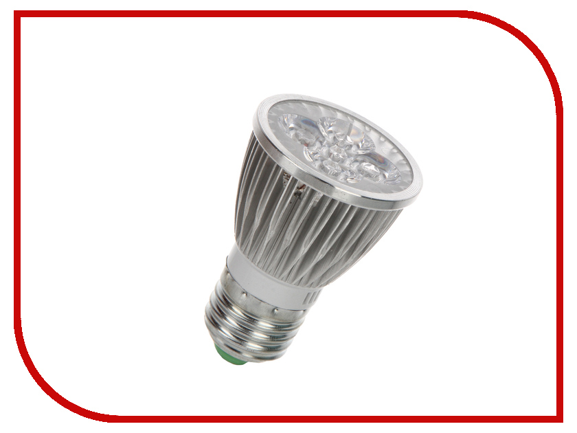 Светодиодная фитолампа Espada Fito LED E27-5W 85-265V e27 6w 3500k 540 lumen 12 led warm white light bulb ac 85 265v