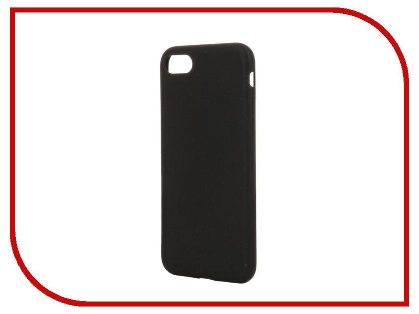 Аксессуар Чехол DF для APPLE iPhone 7 iColorCase-01 Black<br>