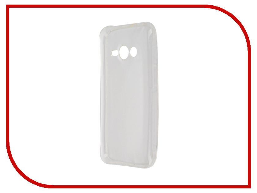 Аксессуар Чехол для Samsung Galaxy J1 2016 Dekken Transparent 20354 аксессуар чехол накладка dekken для apple iphone 4 4s transparent 20223