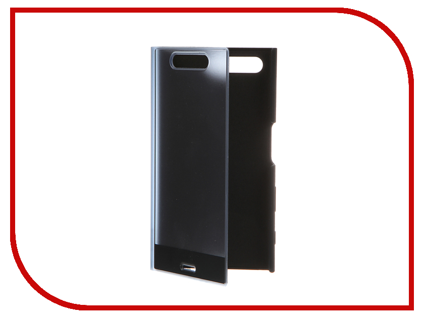 Аксессуар Чехол Sony Xperia X Compact Style Cover Touch SCTF20 Black<br>