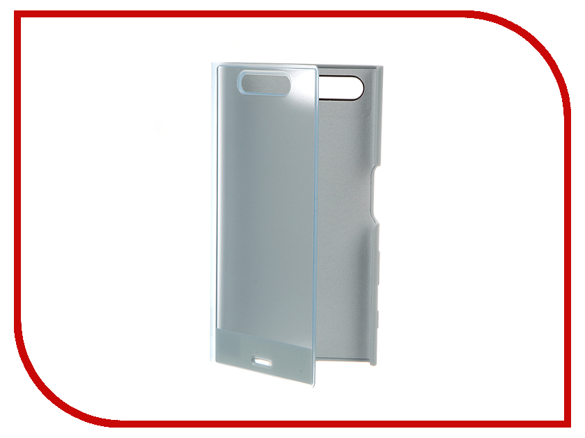 Аксессуар Чехол Sony Xperia X Compact Style Cover Touch SCTF20 Blue<br>