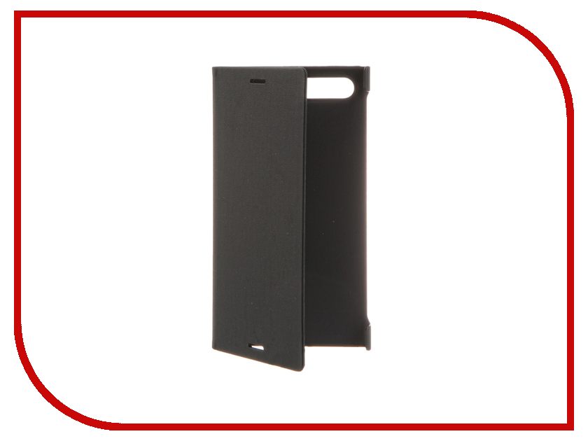 Аксессуар Чехол Sony Xperia X Compact Style Cover Stand SCSF20 / 1304-4674 Black аксессуар чехол sony xperia x melkco black 12779