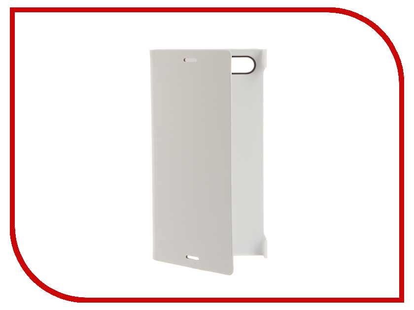 Аксессуар Чехол Sony Xperia X Compact Style Cover Stand SCSF20 White<br>