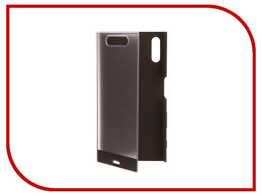 Аксессуар Чехол Sony Xperia XZ Style Cover Touch SCTF10 Black<br>