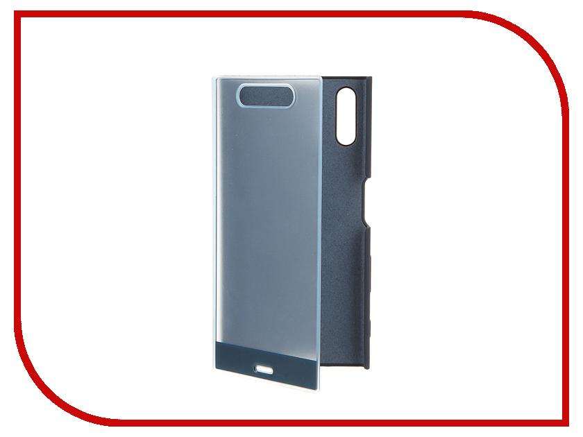 Аксессуар Чехол Sony Xperia XZ Style Cover Touch SCTF10 Blue