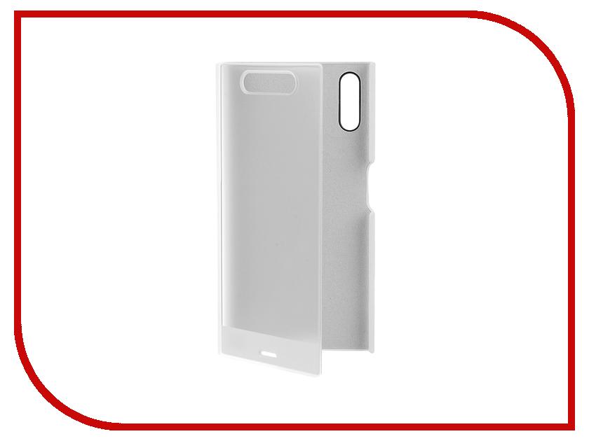 Аксессуар Чехол Sony Xperia XZ Style Cover Touch SCTF10 White<br>