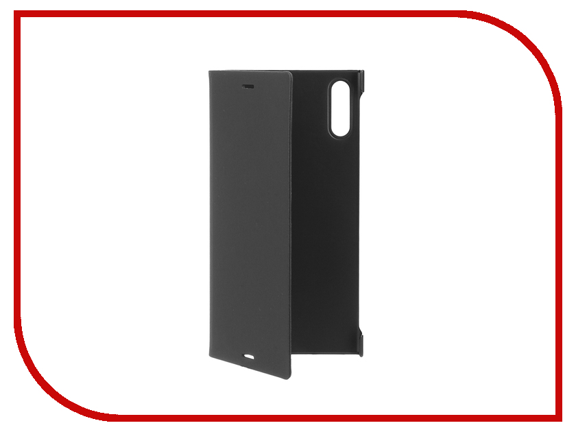 Аксессуар Чехол Sony Xperia XZ Style Cover Stand SCSF10 Black<br>