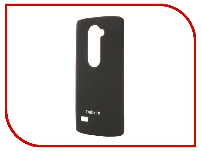 Аксессуар Чехол LG Leon H324 Dekken Soft touch Black 20305<br>