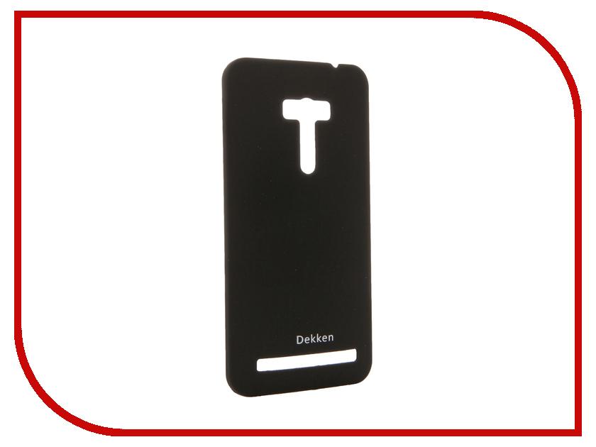 Аксессуар Чехол ASUS ZenFone Selfie ZD551KL Dekken Soft touch Black 20309<br>