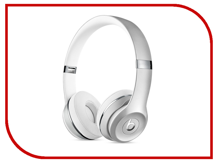 Гарнитура Beats Solo3 Wireless Silver MNEQ2ZE/A beats mixr red