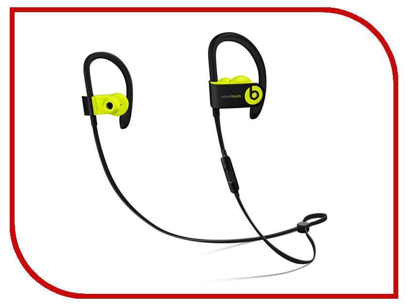 цена на Beats Powerbeats 3 WL Yellow MNN02ZE/A