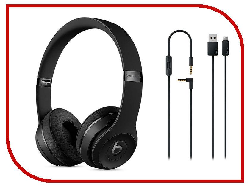 Гарнитура Beats Solo3 Wireless Black MP582ZE/A<br>