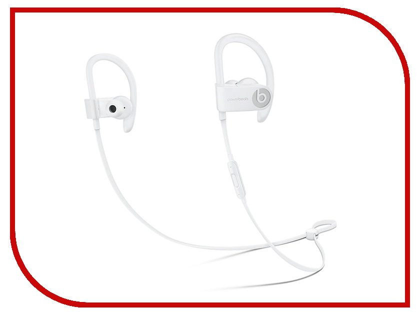 Гарнитура Beats Powerbeats 3 WL White ML8W2ZE/A beats mixr red